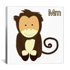 iCanvas Kids Art Monkey Graphics Canvas Wall Art
