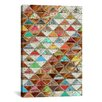 """iCanvas """"Love Pattern"""" by Maximilian San Graphic Art on Canvas"""