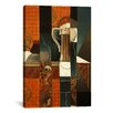 iCanvas 'Playing Cards and Glass of Beer' by Juan Gris Painting Print on Canvas