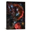 iCanvas Astronomy and Space Orion the Hunter Graphic Art on Canvas
