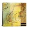"iCanvas Decorative ""Pears"" by Pablo Esteban Painting Print on Canvas"