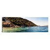 iCanvas Panoramic Kayaking, Sunken City, Kekova Turkey Photographic Print on Canvas