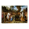 iCanvas Fine Art 'Orestes and Pylades Disputing at the Altar' by Pieter Lastman Painting Print on Canvas
