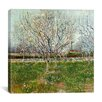 """iCanvas """"Orchard in Blossom (Plum Trees)"""" Canvas Wall Art by Vincent van Gogh"""