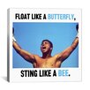 iCanvas Muhammad Ali Quote Canvas Wall Art