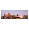 iCanvas Panoramic Morning Skyline and Pier 6 Concert Pavilion Baltimore, Maryland Photographic Print on Canvas