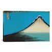 iCanvas 'Mount Fuji' by Katsushika Hokusai Painting Print on Canvas
