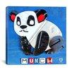 iCanvas Kids Children Munch the Panda (License plate art) from Design Turnpike Graphic Art on Canvas