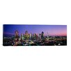 iCanvas Panoramic Night Dallas, Texas Photographic Print on Canvas
