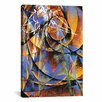iCanvas 'Planet Mercury passing in front of the Sun' by Giacomo Balla Painting Print on Canvas