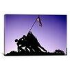 iCanvas Architecture 'World War II Iwo Jima Memorial' Photographic Print on Canvas