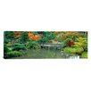 iCanvas Panoramic The Japanese Garden Seattle, Washington Photographic Print on Canvas