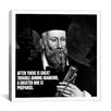 iCanvas Nostradamus Quote Canvas Wall Art