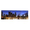 iCanvas Panoramic 'Lake Michigan, Chicago, Illinois' Photographic Print on Canvas