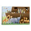 iCanvas Kids Children Noah's Ark Canvas Wall Art