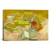 iCanvas 'Piles of French Novels' by Vincent van Gogh Painting Print on Canvas