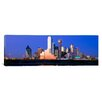 iCanvas Panoramic Night Cityscape, Dallas, Texas Photographic Print on Canvas