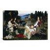 iCanvas 'Saint Cecilia' by John William Waterhouse Painting Print on Canvas