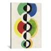 iCanvas 'Rythme' by Robert Delaunay Painting Print on Canvas