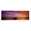 iCanvas Panoramic Sailboats in the Sea, Tahiti, French Polynesia Photographic Print on Canvas