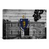 iCanvas Massachusetts Flag, Grunge First Old Ship Church Graphic Art on Canvas