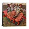 """iCanvas """"Russian Dancers"""" by Edgar Degas Painting Print on Canvas"""