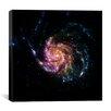 iCanvas Pinwheel Galaxy M101 (Spitzer Space Observatory) Canvas Wall Art