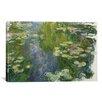 iCanvas 'Le Bassin Aux Nympheas' by Claude Monet Painting Print on Canvas