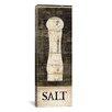 iCanvas Decorative Art 'Salt and Pepper I' by Daphne Brissonnet Graphic Art on Canvas