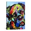 iCanvas 'Mastiff Warrior' by Dean Russo Graphic Art on Canvas