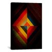 iCanvas Modern Art Mid Century Modern Diamond Color Composition (after Kandisnky) Graphic Art on Canvas