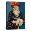 iCanvas 'Le Madras Rouge or Red Madras Headdress (1907)' by Henri Matisse on Canvas