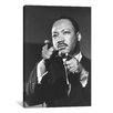 iCanvas Political Martin Luther King Jr Portrait Photographic Print on Canvas