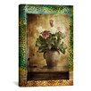 """iCanvas """"Leopard Roses"""" Photographic Art on Canvas Wall Art by Luz Graphics"""