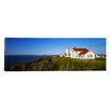 iCanvas Panoramic Fort Worden Lighthouse, Port Townsend, Washington State Photographic Print on Canvas
