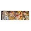iCanvas 'Les Saisons' by Alphonse Mucha Painting Print on Canvas