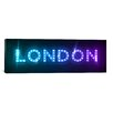 iCanvas 'London' by Michael Tompsett Textual Art on Canvas