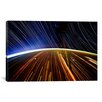 iCanvas Astronomy and Space 'Long Exposure Star Photograph from Space II' Graphic Art on Canvas
