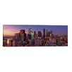 iCanvas Panoramic 'Los Angeles Skyline Cityscape (Sunset)' Photographic Print on Canvas