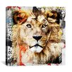 "iCanvas ""Lion"" Painting Print on Canvas by Luz Graphics"