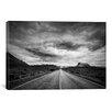 iCanvas 'Long Stretch of Road' by Dan Ballard Photographic Print on Canvas