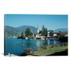 iCanvas Photography 'Little Town by the Lake' by Carl Rosen Photographic Print on Canvas