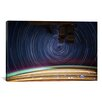 iCanvas ''Long Exposure Star Photograph from Space V'' Graphic Art on Wrapped Canvas
