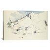 iCanvas 'La Montagne Sainte-Victoire (Fruits Et Feuillage) 1900-1902' by Paul Cezanne Painting Print on Canvas