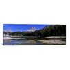 iCanvas Panoramic Lake Misurina and Tre Cime Di Lavaredo, Veneto, Italy Photographic Print on Canvas