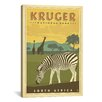 iCanvas Anderson Design Group 'Kruger, South Africa' Vinatage Advertisement on Canvas