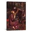 iCanvas 'La Belle Dame Sans Merci' by John William Waterhouse Painting Print on Canvas