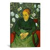 iCanvas 'La Berceuse (Portret Van Madame Roulin)' by Vincent Van Gogh Painting Print on Canvas