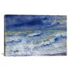 "iCanvas ""La Vague 1879"" by Pierre-Auguste Renoir Painting Print on Canvas"