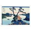 iCanvas 'Lake Suwa in the Shinano Province' by Katsushika Hokusai Graphic Art on Canvas